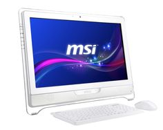 MSI España – PC All-in-One - Wind Top un todo integrado muy bonito Gaming Desktop, Multi Touch, Microsoft Office, All In One, A4, Core, Audio, Internet, Windows