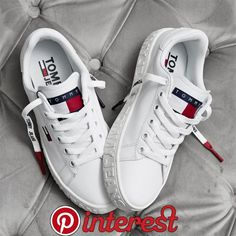 Our favorite sneakers - Gucci Sneakers - Ideas of Gucci Sneakers - Tommy Hilfiger sneakers Chulísimas zapatillas Tommy Hilfiger Gucci Sneakers, Jeans And Sneakers, Best Sneakers, Sneakers Fashion, Shoes Sneakers, Adidas Sneakers, White Adidas Trainers, Men Trainers, Sneakers Workout