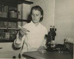 cologist Alma Whiffen Barksdale (1916-1981) in 27, Oct. 1948