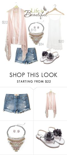 Life is Beautiful by maria-himes on Polyvore featuring Hollister Co. and Brewster Home Fashions