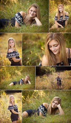 location picture senior grassy romper wedges outfit sunny field girl idea and in Sunny senior girl in grassy field location Romper and wedges senior picture outfit ideaYou can find Senior girl photography and more on our website