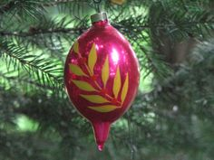 Collector Vintage Christmas Ornament Hand by FingerLakesFinds, $15.00