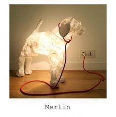 Animal Lamp by Marie-Astrid Montagnier?