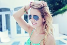 Summer Aviators - Perfect for a pool party!