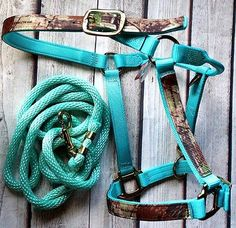Horse Tack REALTREE Triple E Nylon Adj Halter, MB-NO SNAP 2504P