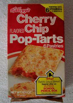 Cherry Chip Pop-Tarts