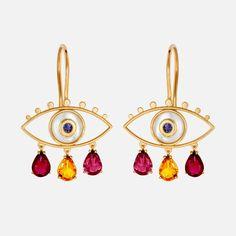 Little Boho Red Earrings Evil Eye Earrings, Evil Eye Jewelry, Evil Eye Bracelet, Red Earrings, Girls Jewelry, Dainty Jewelry, 90s Grunge, Piercings, Indie