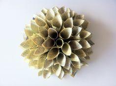 """Tutorial DIY """"Cómo hacer una flor dalia de papel"""""""