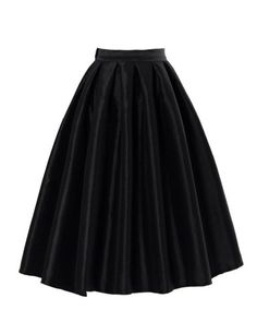 PrettyGuide Women High Waist A Line Pleated Midi Bubble Skirt Black PrettyGuide,http://www.amazon.com/dp/B00HEAS2UY/ref=cm_sw_r_pi_dp_tA5Htb0AA1HTXJ53