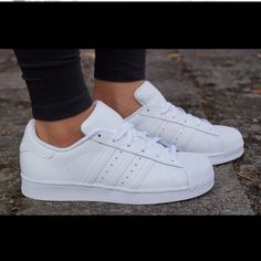 388d1e1336074 11 Awesome ALL WHITE ADIDAS images