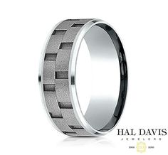 4x harder than Platinum 5x harder than Gold and 7x harder than Silver: Cobalt is the ultimate contemporary metal. Benchmark's naturally inert Cobalt contains a special blend of Cobalt and other alloys that exude extremely high luster and reliable strength. Available now at #HalDavisJewelers. #Benchmanrk #GentlemanSwag
