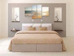 12 idei de dormitoare fabuloase amenajate cu gri - Idei Amenajari Diy Home Crafts, Photos, Interior, Furniture, Home Decor, Yurts, Bright Rooms, Painting Styles, Modern Bedroom
