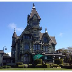 World famous Carson mansion. Eureka calif.