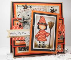 MFT Pure Innocence - Little Witch by arat - Cards and Paper Crafts at Splitcoaststampers
