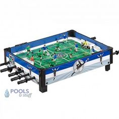 MLS Table Top Rod Soccer - Exclusive MLS Soccer Table brings exciting MLS action, at this great price!  This durable table top soccer plays with smooth action.