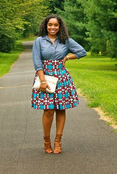 Ankara Styles For Teenagers : 50 Fabulous Looks To Steal African Inspired Fashion, African Print Fashion, Africa Fashion, Fashion Prints, African Prints, African Fabric, African Attire, African Wear, African Dress