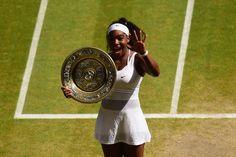 Serena Wins 5th Wimbledon. Completes the Serena Slam - Wimbledon 2015