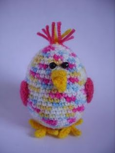 Chick Amigurumi - crochet free pattern