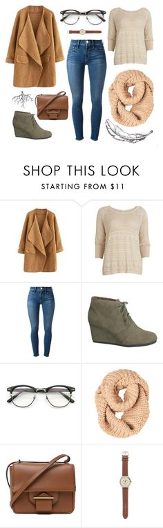 """""""uptown"""" by svetiewazhere ❤ liked on Polyvore featuring VILA, Frame Denim, maurices, Reed Krakoff and J.Crew"""