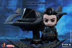 Batman v Superman: L'aube de la Justice, encore un nouveau set Cosbaby de Hot Toys pour notre plus grand plaisir: Le Batman and Batwing!