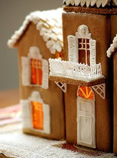 House made of ginger bread