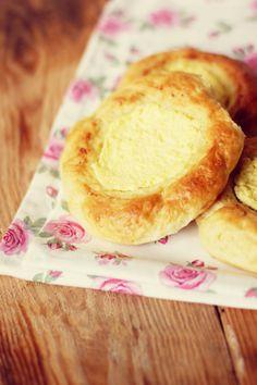 Drożdżówki z serem. #brioche #recipe