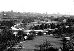 Longton park with the bandstand in the background