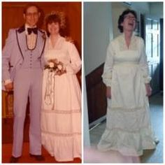 Back in 2014 after I had gained and lost 250 pounds, my friends challenged me during a baby shower at my house to try on my wedding dress. For years a dream of mine was to get back into that wedding dress. You can see how excited I was when it actually happened. 40 years and back to my wedding dress size. God is good. #sweetlove