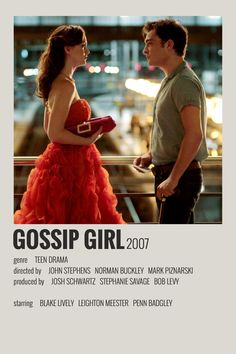 Alternative Minimalist Movie/Show Polaroid Poster - Gossip Girl Iconic Movie Posters, Minimal Movie Posters, Minimal Poster, Iconic Movies, Disney Movie Posters, Film Polaroid, Polaroids, Gossip Girls, Gossip Girl Outfits