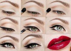 pin up vintage maquillage - Recherche Google