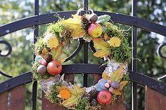 Dekorácie - Jesenný venček - 7147346_