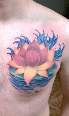 Wrist Lotus Flower Tattoo Designs - Tattoo Designs Tip Chest Tattoo, I Tattoo, Cool Tattoos, Awesome Tattoos, Lotus Flower Tattoo Design, Flower Tattoos, Lotus Tatoos, Tattoo Illustration, Cultura Pop