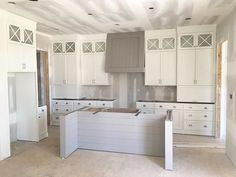 Fresh new kitchen design in our Moonseed cottage courtesy of @gretchenblack. This home will be available for purchase and move in this fall.  #nortoncommons