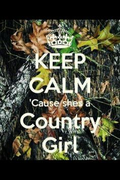 Half of me is country... The other half is just plain hillbilly!  ;)