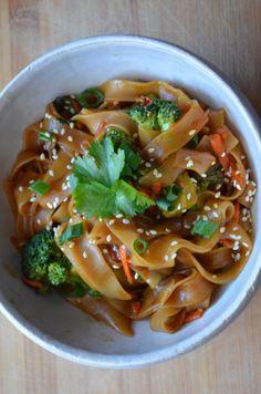 Spicy Thai Noodles #Vegan #Recipe