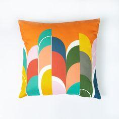 Shop — The Shape Studio Luxury Cushions, Rainbow Print, Bespoke Design, Stripe Print, Service Design, Pattern Design, Shapes, Colorful, Throw Pillows