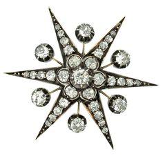 Diamond Pin/Pendant c1875 - Pampillonia
