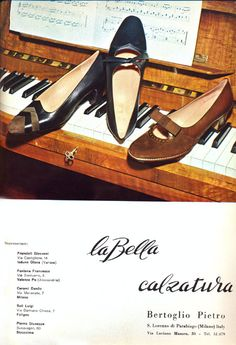 TheHistorialist: SS33 | LOST AND FOUND | 1965 | THE SHOE MAKER LA BELLA CALZATURA