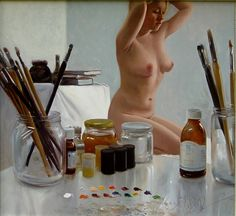 Kai Fine Art is an art website, shows painting and illustration works all over the world. Barnett Newman, Alex Colville, Carl Larsson, Andrew Wyeth, Oil Painting Pictures, Pictures To Paint, Jan Van Eyck, Audrey Kawasaki, Luis Royo
