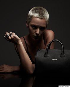 La très belle campagne des sacs en cuir Jérôme Bocchio Paris avec Vanessa Pilon (PHOTOS)