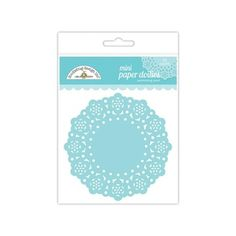 """Doodlebug's Embellishments are a combination of specially selected goodies, so you can add a little pizzazz to all your scrapbook and paper projects. They are acid free, lignin free, photo safe and scrapbook friendly. Mini Doilies- 75 intricately detailed paper doilies that work great for cards, crafting, and are food safe for baking. Use them for holidays, kids crafts, frames for pictures, and much more. Measures approximately 2 7/8"""" around, with a .75"""" lacy border."""