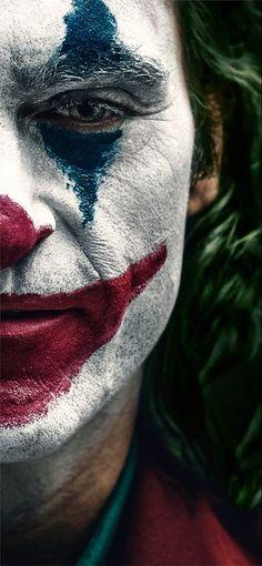 Joker 2019 Clown Makeup Joaquin Phoenix Poster HD Mobile, Smartphone and PC, Desktop, Laptop wallpaper Art Du Joker, Le Joker Batman, Der Joker, Joker And Harley, Joker Cartoon, Baby Batman, Photos Joker, Joker Images, Joker Full Movie