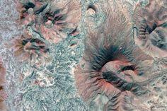 Los-Vidrios Mexico, rock pattern, Google-Earth-view-2046