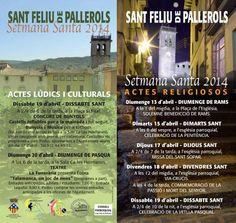 Setmana Santa 2014. Sant Feliu de Pallerols