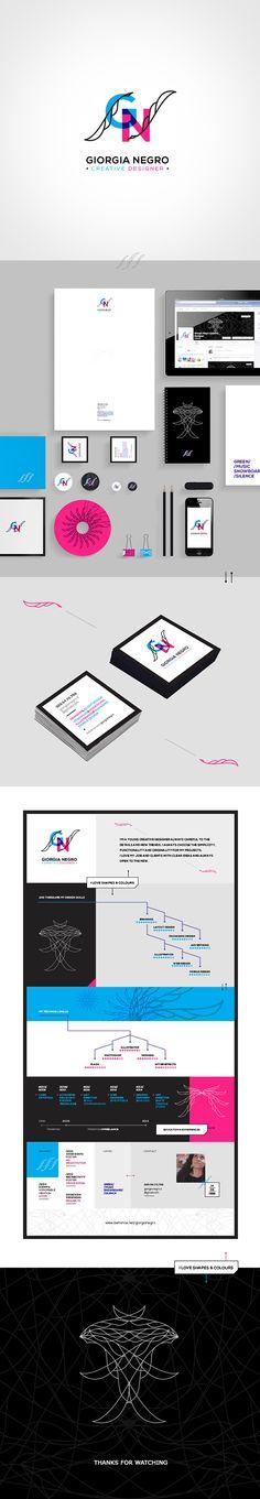 Giorgia Negro :: Creative Designer :: Personal Branding on Behance