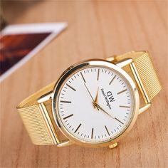 Las mejores marcas de lujo Daniel Wellington relojes DW hombres del Reloj de acero inoxidable mujeres visten el movimiento de japón Reloj de cuarzo militar Reloj