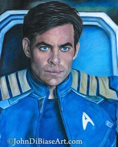#mulpix Finished Pine/Kirk freehand colored pencil drawing. Prints now in my Etsy shop.   #chrispine   #startrek  #startrekbeyond  #captainkirk   #jamestkirk  #jameskirk  #startrek50  #startrekintodarkness  #strathmore  #captainjamestkirk  #ussenterprise  #enterprise  #art  #artist  #artwork  #art_motive  #nawden  #draw  #drawing  #freehand  #coloredpencil  #instaart  #pencil  #portrait  #pencildrawing  #sketch  #fanart  #etsy  #artistic  #jjdart