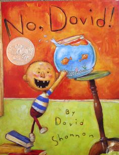 no, david! by david shannon - great for introducing rules