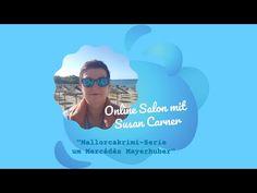 Mallorcakrimi-Serie um Mercédès Mayerhuber • Online Salon mit Susan Carner - YouTube Balearic Islands, Mediterranean Sea, Beautiful Islands, Where To Go, Travel Inspiration, Salons, Youtube, Movie Posters, Majorca