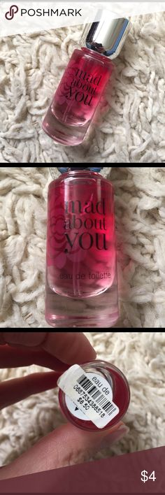 "Bath and Body Works Mad About You mini spray Bath and Body Works ""Mad About You"" mini .24 oz perfume spray. Never been used. PINK Victoria's Secret Other"